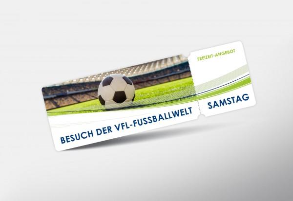 Freizeit am Samstag: Besuch der VfL-FußballWelt