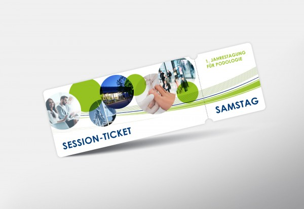 Session-Ticket Samstag